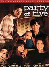 Party of Five SEASON 1 (DVD, 1994) TV - Neve Campbell, Matthew Fox - New Sealed