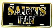 NFL New Orleans Saints Fan license plate New aluminum auto tag sublimation 1984