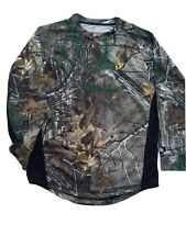 SCENT BLOCKER  YOUTH 8TH LAYER XL/S SHIRT REALTREE  CAMO   XL