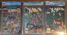 X-Men 266 CGC 9.4 & 267 9.2, Annual no. 14 8.0 Gambit CGC MCU Original owner