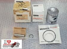 YAMAHA DT125 DT MX NEW GENUINE PISTON KIT STD SIZE 2N4-11630-00