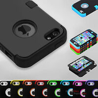 Hybrid Shockproof Tuff Hard Rugged Cover Case For Apple iPhone 8 7s 7 6s 6  5.5