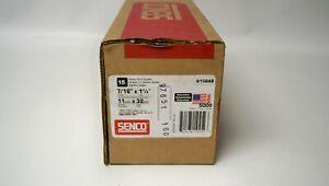 "Senco Q15BAB Galvanized Heavy Wire 15 Gauge 7/16"" x 1-1/4"" Staples (Qty 5000)"