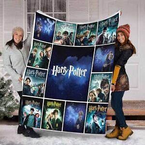 Harry Potter Movies Blanket for Adult Kids Blanket ,Birthday Gift,Christmas G...