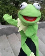 Disney The Muppet Show Kermit the Frog Plush Hand Puppet Toy new