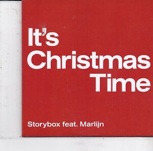 Storybox-Its Christmas Time Promo cd single