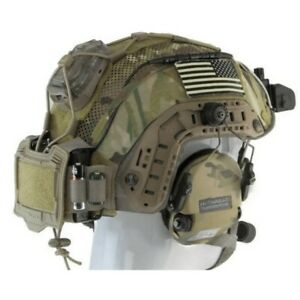 Genuine Agilite Helmet Cover Airsoft gen-4 with pouch ops core multicam