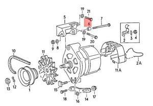 Genuine Volkswagen Spring Shackle NOS Dasher Jetta Quantum Rabbit 036903121A
