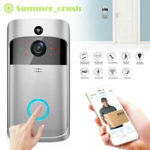 WiFi Wireless Video Doorbell Camera Smart Door Ring HD Intercom Bell Security