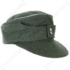 Officers M43 Ski Cap - Field Grey - WW2 German Reproduction All Sizes Hat New