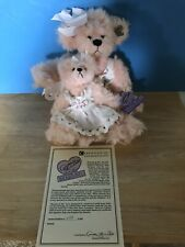 """Annette Funicello Bear: """"Mommy And Me� w/ Coa—-No Box: Lmt Ed #237 / 3000"""