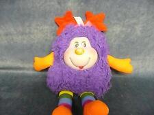 Vintage Antique Retro 1983 Rainbow Brite Sprite Plush Doll Dark Purple Hair