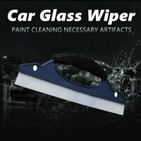 Silicone Car Water Wiper Squeegee Blade Dry Valet Window Glass Clean Shower di