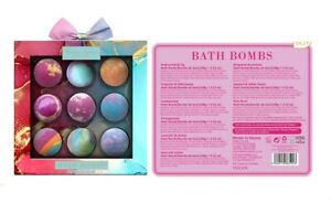 Bath Shower Bombs mixed scents of 9 x 100g Flowers sandal wood lavender rose