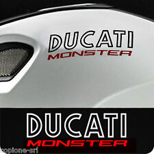 DUCATI MONSTER 2 adesivi Bicolore old new style