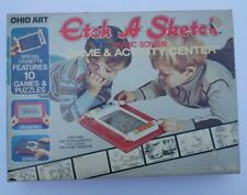 Vintage Etch A Sketch In Box With Activity Center