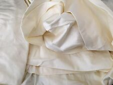 Twin Duvet Comforter Cover Sateen Ivory Legends Luxury 500 TC Company Store 181