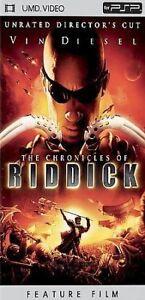 The Chronicles of Riddick UMD Video PSP