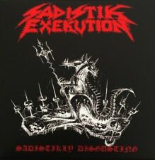 SADISTIK EXEKUTION / DOOMED AND DISGUSTING - split 7''EP (+ Poster)