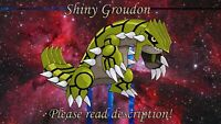 Shiny Groudon 6IV - Pokemon X/Y OR/AS S/M US/UM Sword/Shield