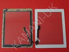 Per iPad 3 e 4 TOUCH SCREEN DIGITIZER VETRO DI RICAMBIO BIANCO CON TASTO HOME