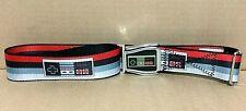 "Nintendo Controller Crosscheck Flightbelts adjustable fashion belt 1.5"" wide"