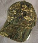 Oilfield Petroleum M&M Sales Service Casper Wyoming Camo Adjustable Hat Cap