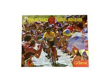 Miguel Indurain poster tour de france 1992 miroir du cyclisme