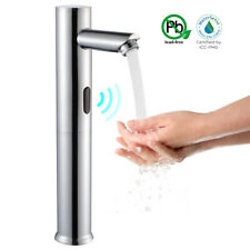 Automatic Touchless Basin Faucet Battery Operated Infrared Sensor Cold Water Tap