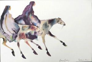 Carol Grigg Healers Walk II Native Southwest Art Print 25-1/2 x 38