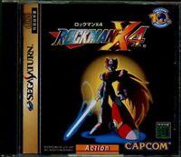 Sega Saturn Rockman X4 Mega Man Japan SS