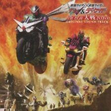 OST-KAMEN RIDER X KAMEN RIDER DOUBLE (W) & DECADE MOVIE TAISEN 2010-JAPAN CD G88