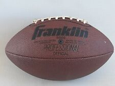 Franklin 5020 Professional Football Official Grip Rite Inflate to 4lbs Nice