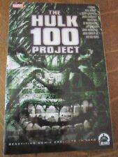 The HULK 100 PROJECT The Hero Initiative Full Color Softcover Book!