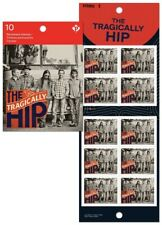 bq. TRAGICALLY HIP = Canadian Recording Artists = One Booklet of 10 Canada 2013