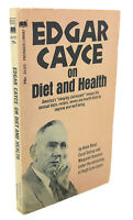 Anne Read EDGAR CAYCE :  On Diet and Health 1st Edition Thus 1st Printing