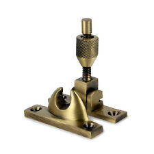 SASH WINDOW BRIGHTON FASTENER NARROW STYLE ANTIQUE BRASS