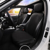 Breathable  Ice Silk Car Seat Cover Cushion Protection Black Single Front Seat