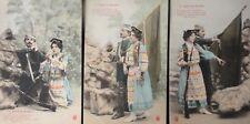 More details for french set of 3 pc's pour la russie for russia le frere porte l'oriflamme c1903