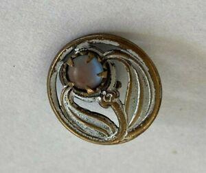 Rare Art Nouveau Saphiret Button