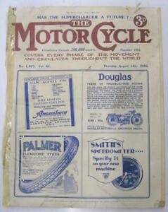 The Motor Cycle 14 Aug 1930   Magazine DOT Villiers 250 Test NSU