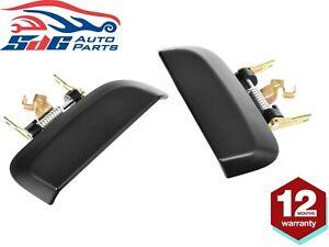 Pair REAR Outer LH+RH Door Handle Black For Nissan Pathfinder R51 2005-2013