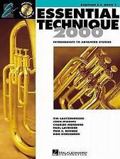 Hal Leonard Essential Technique 2000, Book 3 WITH CD FOR BARITONE B.C.