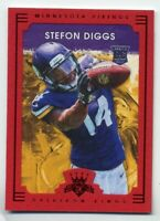 2015 Gridiron Kings STEFON DIGGS Rookie Card RC RED FRAME #125 Minnesota Vikings