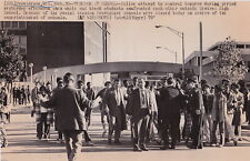 RACIAL TENSION FIGHT Providence RI High School * VINTAGE 1970 CIVIL RIGHTS photo