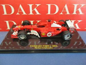 Die cast 1/43 Modellino Auto F1 Ferrari F2004 2004 M. Schumacher