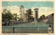 Kiddies Pool & Ferris Wheel in Riverview Beach NJ 1936