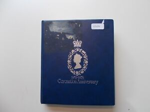 1978 Coronation 25th Anniversary - Mint collection in album. See pics below.