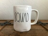 BRAND NEW Rae Dunn Large Letter LL SQUAD Coffee Mug Cup