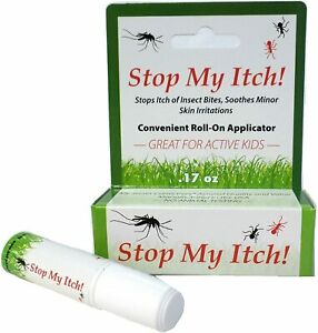 Stop My Itch! Instantly Stops Itch of Mosquito Bites | Soothes scrapes | 0.17 oz